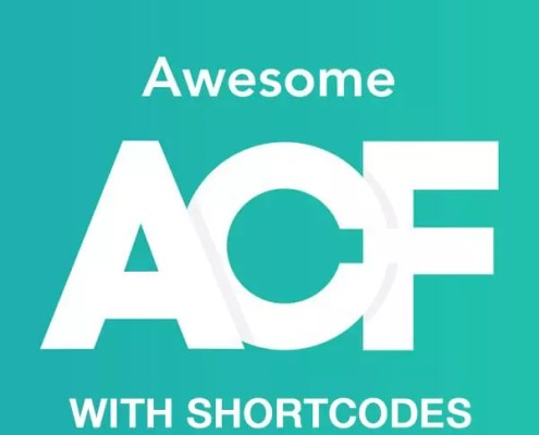 ACF Fields With Shortcodes