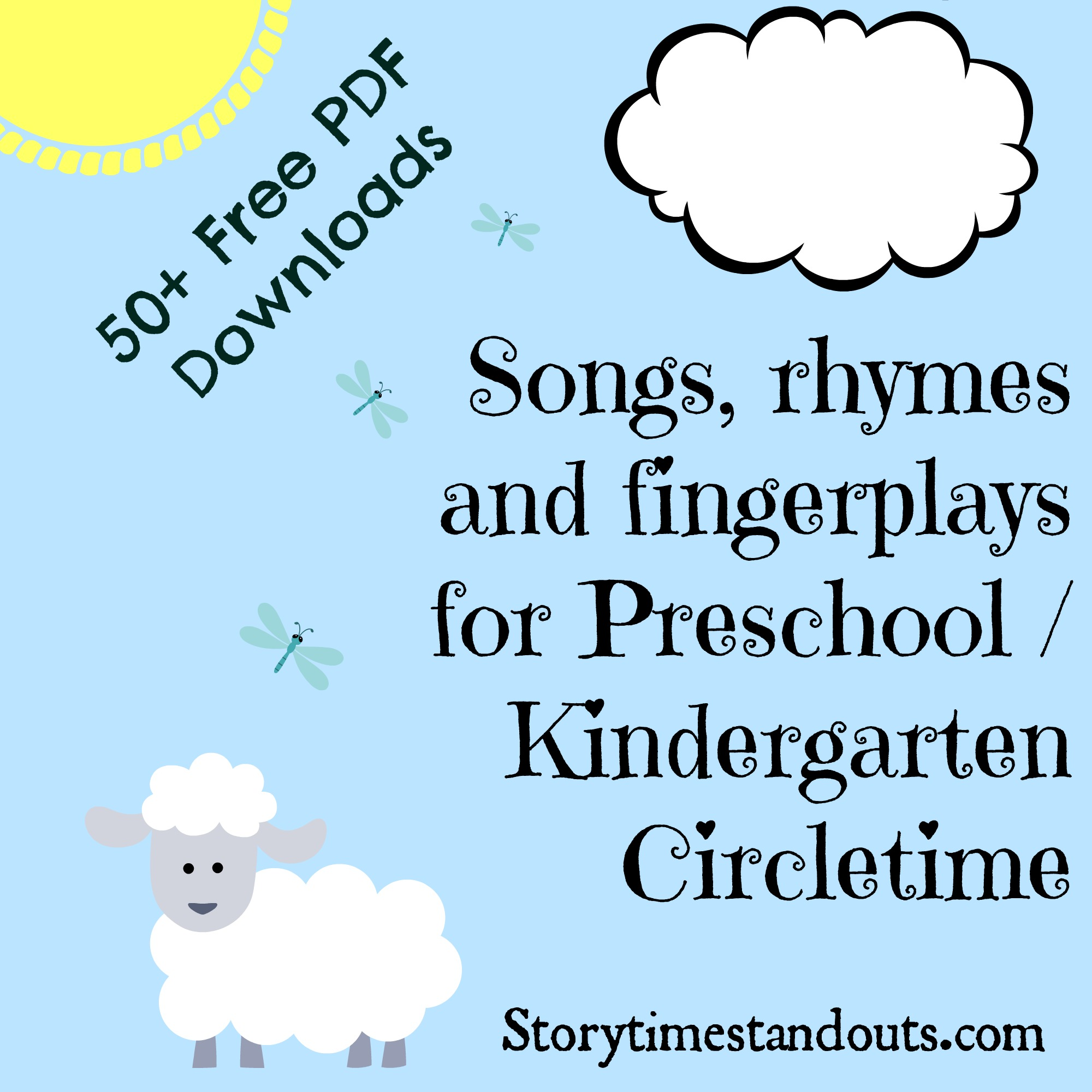 6 Free Printable Nursery Rhymes To Share With Young Children