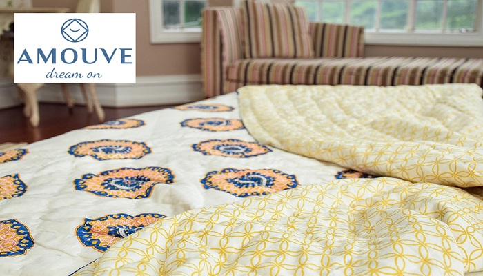 Amouve – Toxin-free, Organic cotton bedding that spells luxury and softness