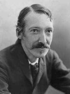 Author Robert Louis Stevenson