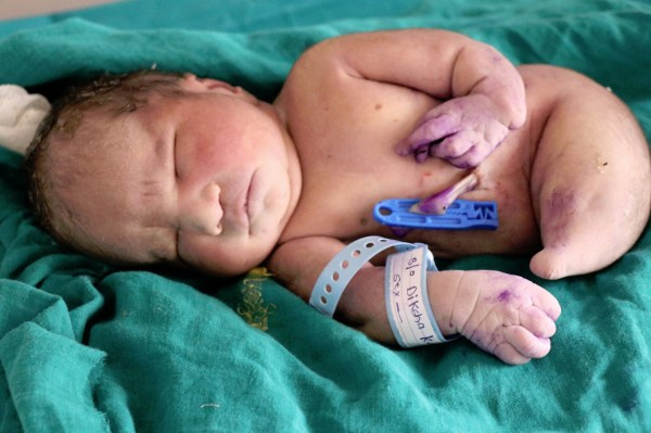 Indian Mother Natural Birth World' Seventh