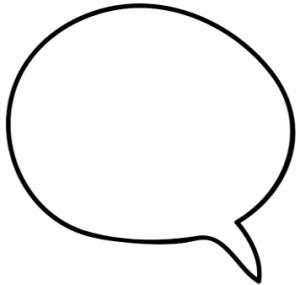 Small speech bubble