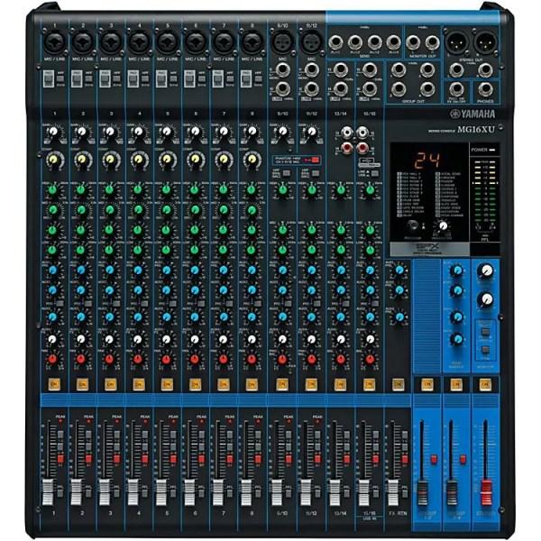 Yamaha MC16XU Mixer