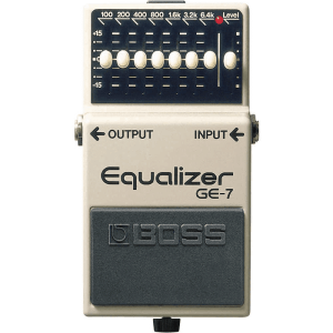 BOSS 7 BAND Graphic Equaliser