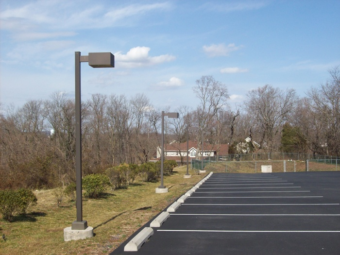 led parking lot lighting and area light