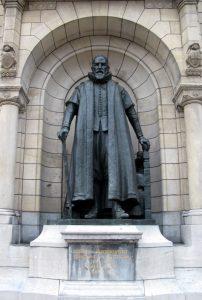 Johan van Oldenbarnevelt Statue, Rotterdam City Hall, Netherlands