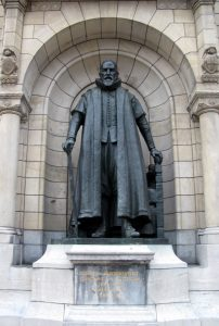 Johan van Oldenbarnevelt Statue, Rotterdam City Hall, Netherlands