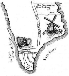 New Amsterdam 1660