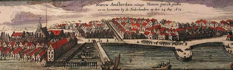 New Amsterdam 1674