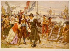 Peter Stuyvesant in New Amsterdam