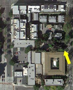 John B. Stoutenburgh Home (Google Satellite View)