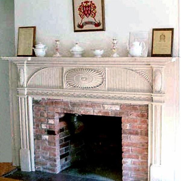 William Stoutenburgh Historic Homesite Fireplace Mantel