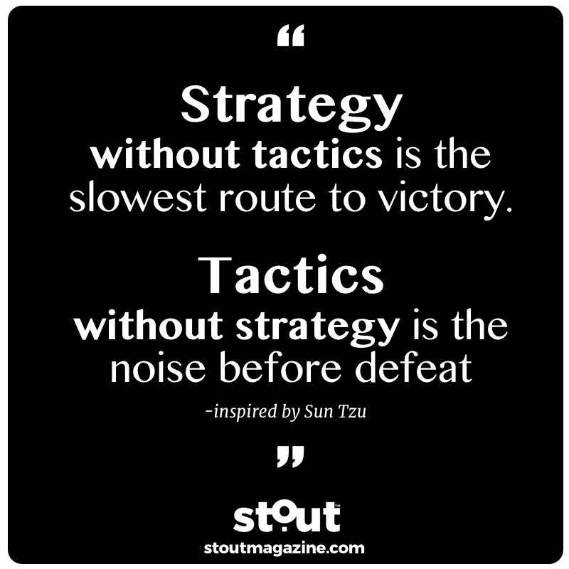 Image result for strategy without tactics