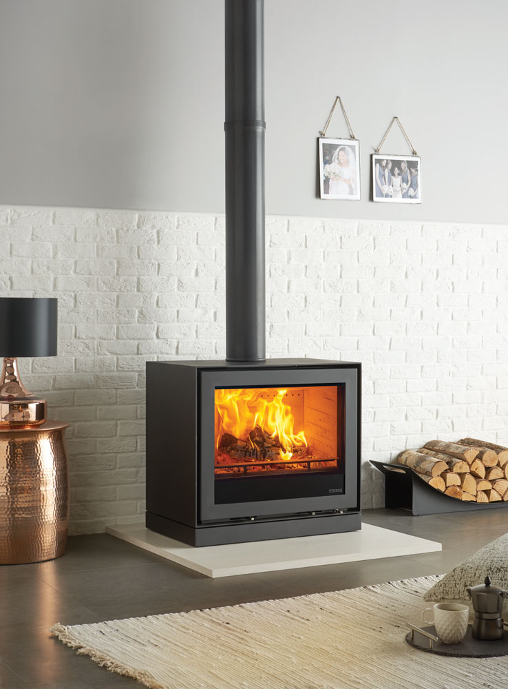 Freestanding Elise 680 Wood Burning and Multifuel Stoves  Stovax Stoves