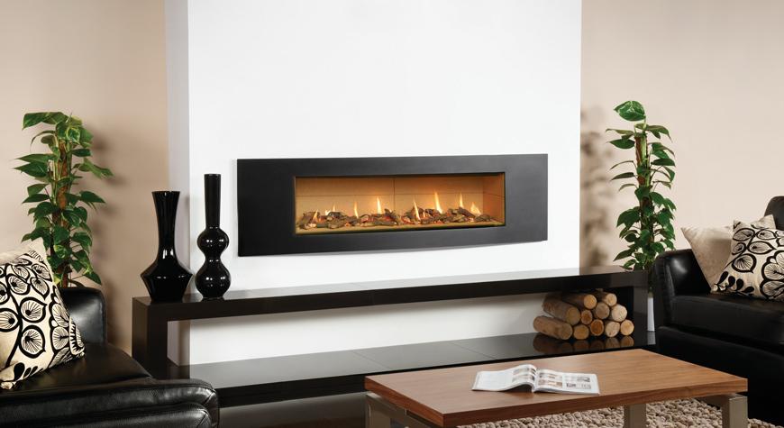Studio Verve Gas Fires  Gazco Built In Fires
