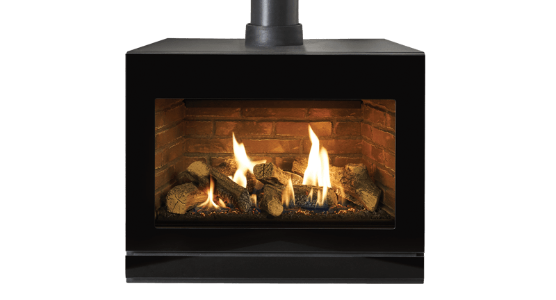 Riva2 F670 Gas Stoves  Gazco Contemporary Stoves Freestanding Fires