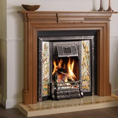 Contemporary Living Room With Electric Fireplace Rooms To Go Sets Tv Victorian Tiled Fireplaces - Stovax Traditional