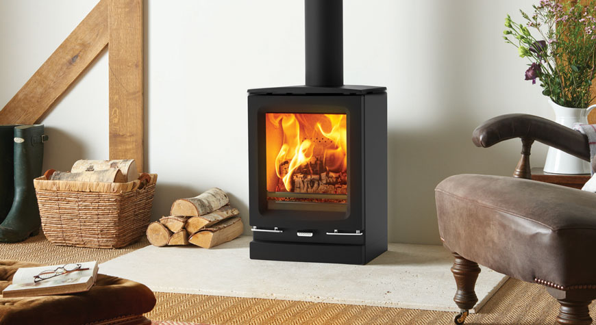Vogue Small Wood Burning  Multifuel Stoves  Stovax Contemporary Stoves