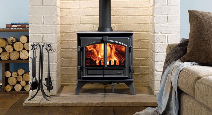Riva Plus Medium Wood Burning Stoves & Multi