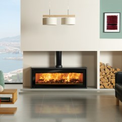 Living Room Designs With Wood Stove Build A Set Studio 3 Freestanding Burning Stovax Shown Decorative Black Flue Ring Cover