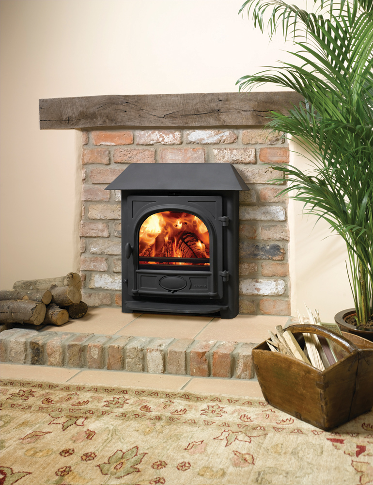 Stockton 7 Wood Burning  Multifuel Inset Convector Stoves