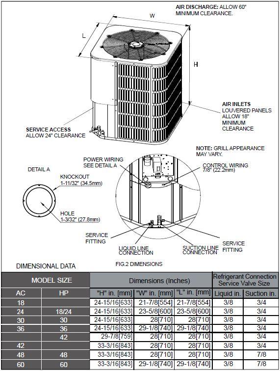 Napoleon Element Series 14 SEER Heat Pump
