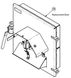 Empyre 250 Outdoor Wood Boiler Replacement Forced Air Door