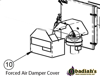 Empyre Wood Boiler Replacement Damper Cover