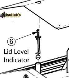 Empyre Cozeburn Replacement Lid Level Indicator