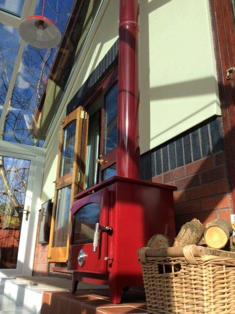 Wood Burning Stove In A Conservatory Extension Diy