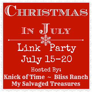 Christmas in July Link Party Button