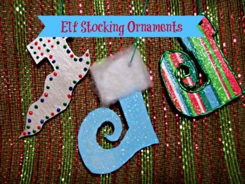 StowandTellU - Elf Stocking Ornaments