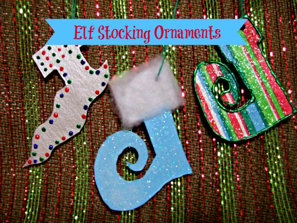 StowandTellU - Elf Stocking Ornaments