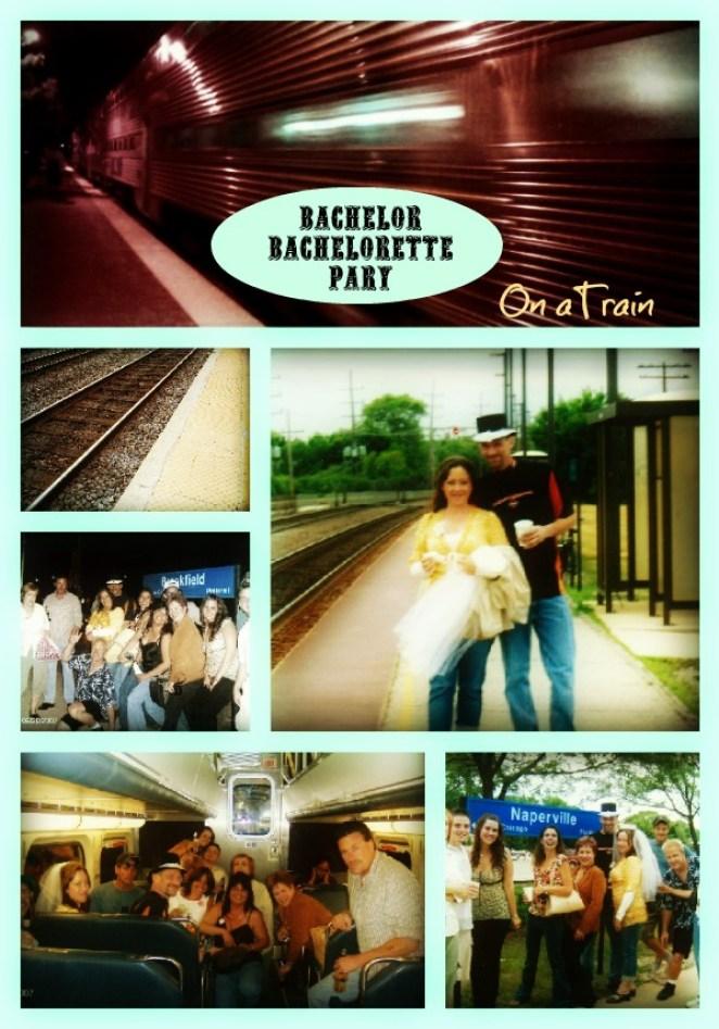 Have a Co-Ed Bachelor-Bachelorette Party on a train