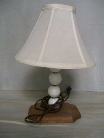 golf ball lamp with the wrong shade