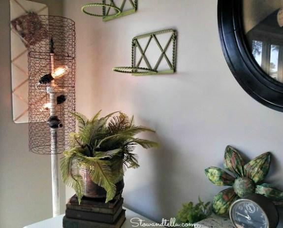 Diy chicken wire lamp shade stowtellu diy chicken wire lamp shade stowandtellu keyboard keysfo Images