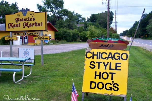 Meat Market -near Warren Dunes Michigan-Rte12