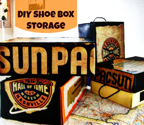 Souvenir and Boutique Bag Shoe Box StorageBox Storage-StowandTellU