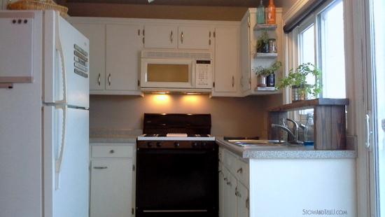 Kitchen progress-phase-one-is-done-StowandTellU