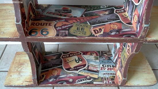 Route 66 shelf-StowandTellU.com