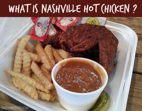 What is Nashville hot chicken