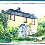 1960's image of Saxham Cottage