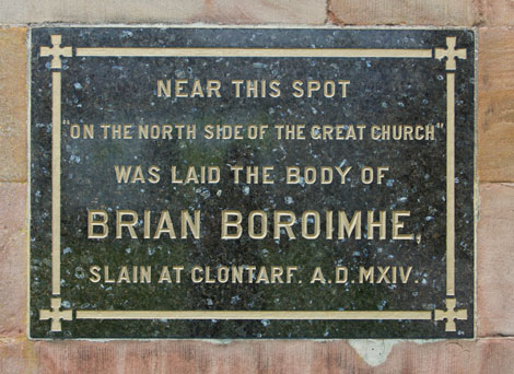 Brian Boru - St Patrick's COI Cathedral, Armagh