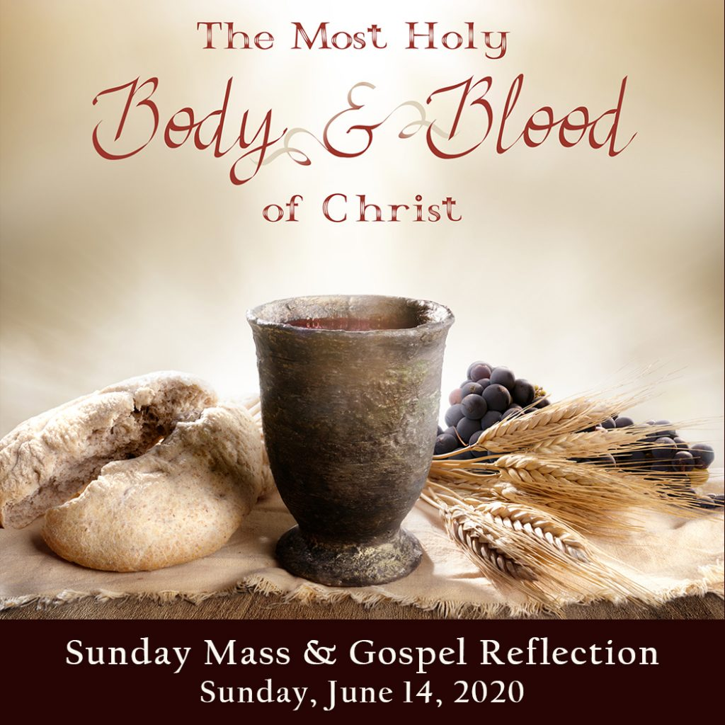 Sunday Mass And Gospel Reflection Most Holy Body And