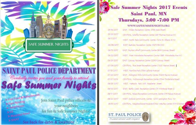 Safe Summer Night Schedule