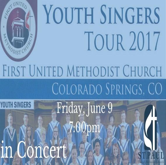 FUMC Colorado Springs, CO Youth Singers Concert