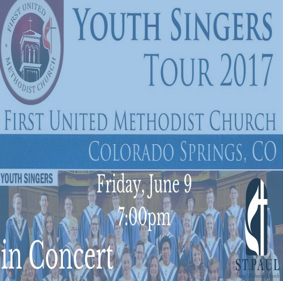 FUMC Colorado Springs, CO Youth Singers Concert