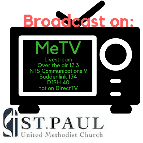 Sunday 9/10 Broadcast on MeTV