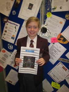 "Sarah Geoghegan 08/28 was Highly Commended for her poem entitled ""My Fear"""