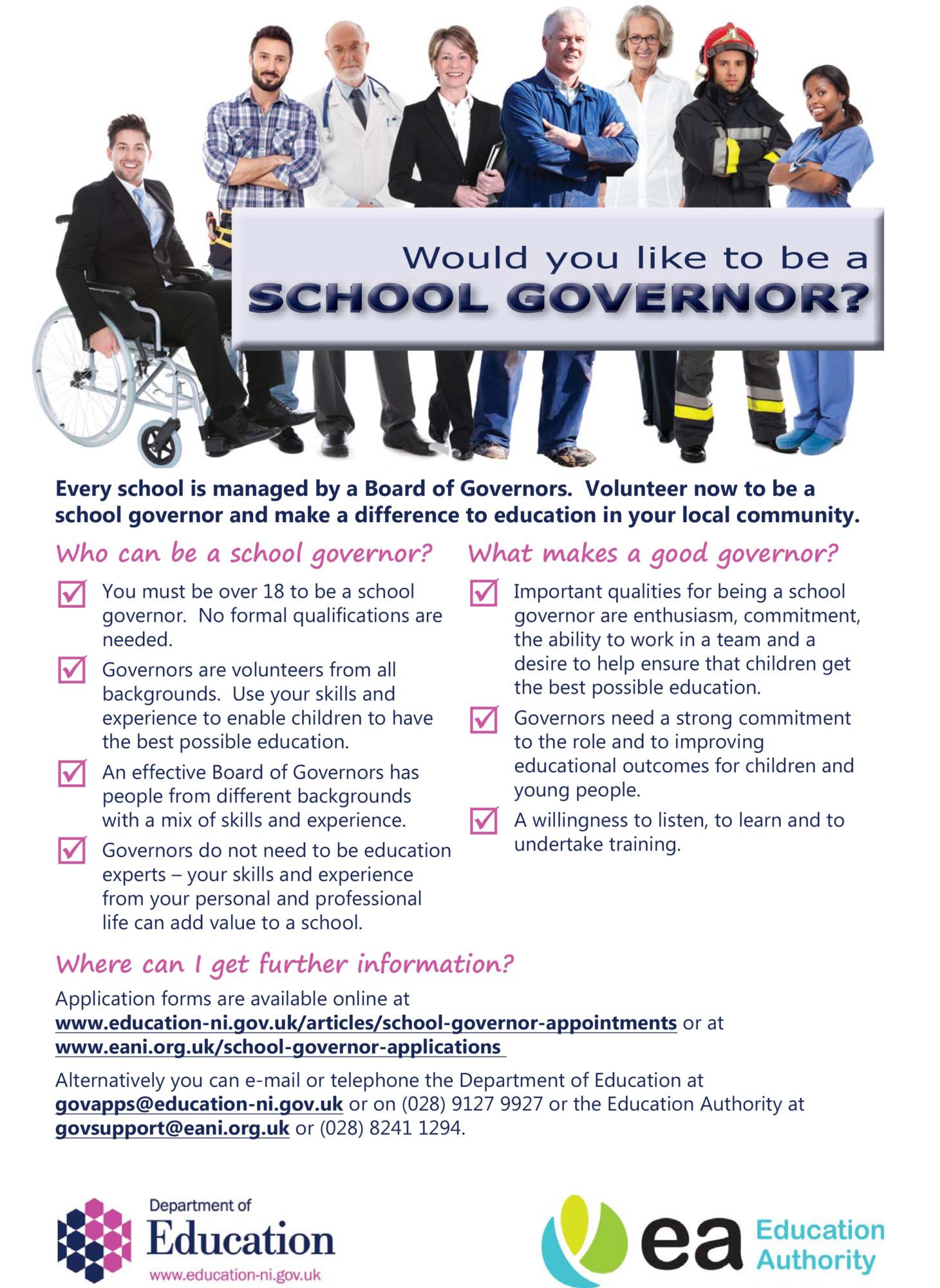 become a school governor